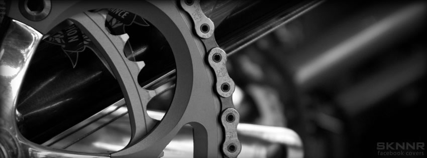 Bike Crank Facebook Cover By Sknnr Com