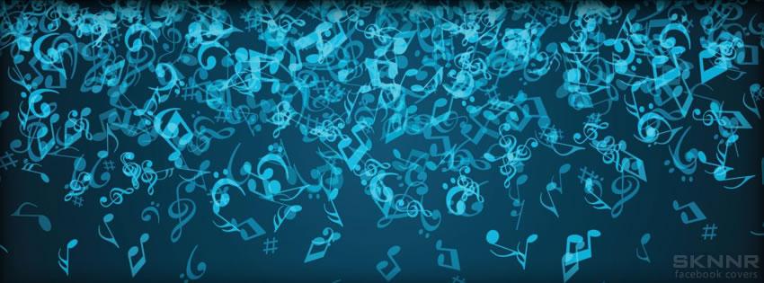 Music notes cover photos for facebook