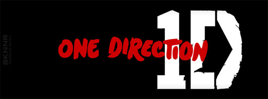 One Direction Black Facebook Cover