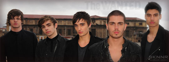 The Wanted 4 Facebook Cover